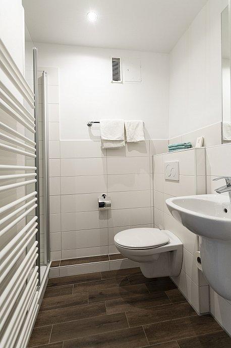 Standard-Einzelzimmer Bad